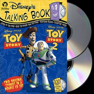 **LIMITED EDITION** Disney Talking Book - Toy Story & Toy Story 2 (2CD)