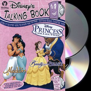 **LIMITED EDITION** Disney Talking Book - Aladdin & Beauty And The Beast (2CD)